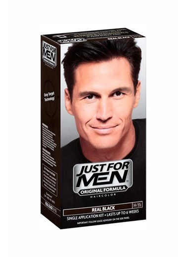 Just Formen Saç Boyası Siyah